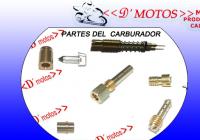 PARTES DEL CARBURADOR